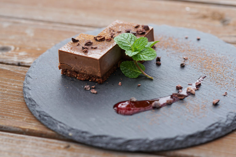アボガド生チョコケーキ
